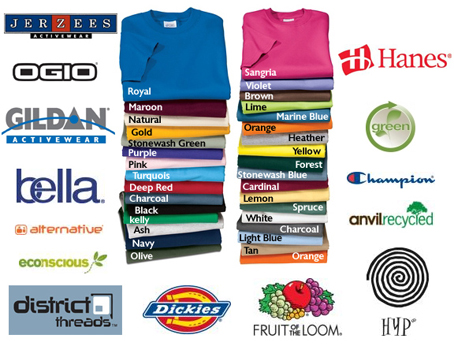 a42d8f89a catalog Custom Embroidery & Screen Printed Apparel